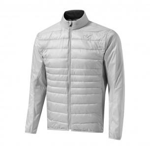 Mizuno Move Tech Jacket vapor silver kurtka ocieplana [WYPRZEDAŻ]