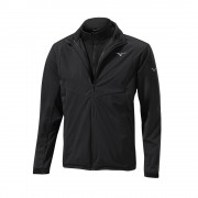 Mizuno 3in1 Jacket black kurtka+bezrękawnik ocieplane