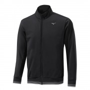Mizuno Tech Shield black bluza ocieplana