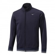 Mizuno Tech Shield Jacket navy bluza ocieplana