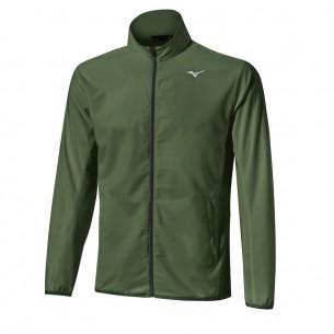 Mizuno Move Tech Lite Jacket khaki kurtka golfowa