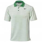 Mizuno Quick Dry Boarder Polo green koszulka golfowa