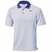 Mizuno Quick Dry Boarder Polo reflex blue koszulka golfowa