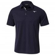 Mizuno Quick Dry Jacquard Polo deep navy koszulka golfowa