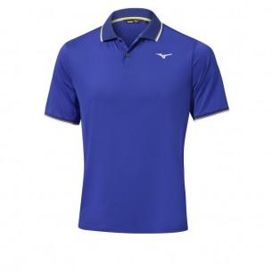 Mizuno Quick Dry Performance Plus Polo reflex blue koszulka golfowa