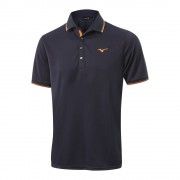 Mizuno Breath Thermo deep navy polo ocieplane