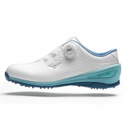 Mizuno Nexlite BOA 006 Ladies white/turquoise buty golfowe