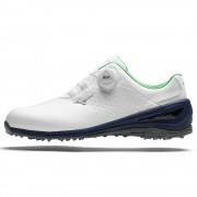Mizuno Nexlite BOA 006 white/navy/green buty golfowe
