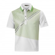 Mizuno Solar Cut Print Polo poison green