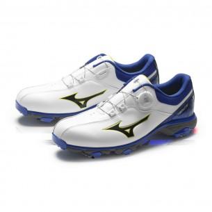 Mizuno Nexlite BOA 005 white/blue buty golfowe