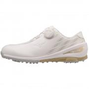 Mizuno Nexlite BOA Ladies white/gold buty golfowe [WYPRZEDAŻ]