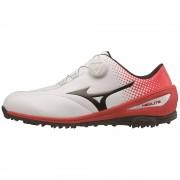 Mizuno Nexlite BOA white/red buty golfowe [WYPRZEDAŻ]
