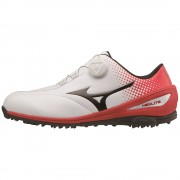 Mizuno Nexlite BOA white/red buty golfowe