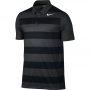 Nike Breathe Bold Stripe black polo męskie