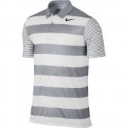 Nike Breathe Bold Stripe grey polo męskie