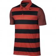 Nike Breathe Bold Stripe max orange polo męskie