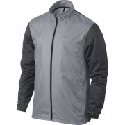 Nike Full-Zip Shield Jacket grey kurtka przeciwwiatrowa