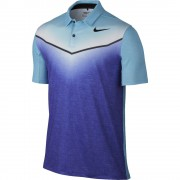 Nike Mobility Fade blue polo męskie