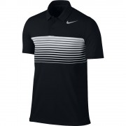 Nike Mobility Speed Stripe black polo męskie