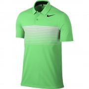 Nike Mobility Speed Stripe green polo męskie