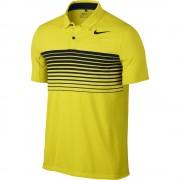 Nike Mobility Speed Stripe electrolime polo męskie