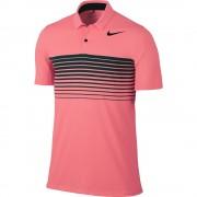 Nike Mobility Speed Stripe lava glow polo męskie