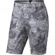 Nike Modern Fit Seasonal Print white/black krótkie spodnie