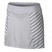Nike Precision Knit Printed Skort white/grey spódniczka golfowa