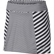Nike Precision Knit Printed Skort white/black spódniczka golfowa
