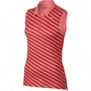Nike Precision Print Sleeveless lava glow polo damskie