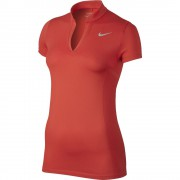 Nike Zonal Cooling Dri-FIT max orange polo damskie