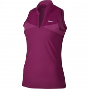 Nike Zonal Cooling Swing Knit fuchsia polo damskie