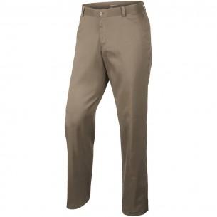 Nike Flat Front Pant khaki spodnie golfowe