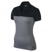 Nike Gingham Polo black