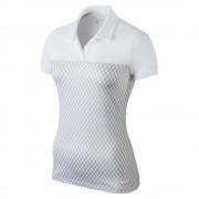 Nike Gingham Polo white