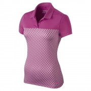 Nike Gingham Polo hot pink