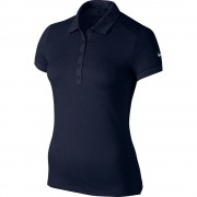 Nike Victory Texture obsidian blue polo damskie