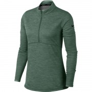 Nike Dry Top HZ clay green bluza damska