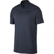 Nike Dry Victory Stripe thunder blue polo męskie