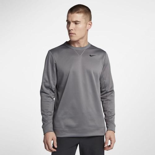 9b19dc32a8a7da Nike Therma Top Crew Core gunsmoke bluza termiczna - BogiGolf.com.pl