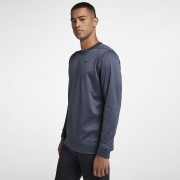 Nike Therma Top Crew Core thunder blue bluza termiczna