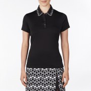 Nivo Wendy Ladies Polo black koszulka golfowa