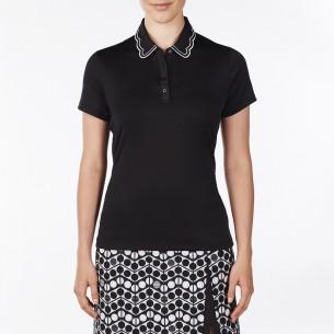 Nivo Wendy Ladies Polo black koszulka golfowa