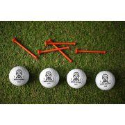 SUPER DZIADEK - Piłeczki personalizowane do gry w golfa