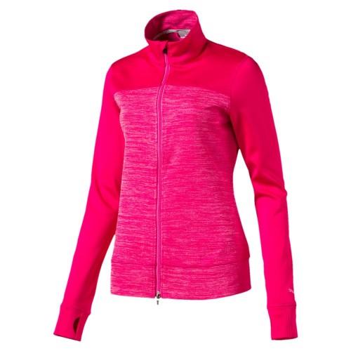 8ec6d0400f39c5 Puma Colorblock Full Zip peacoat bluza damska - BogiGolf.com.pl