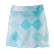 Puma Crosshatch Knit Skirt aruba blue spódniczka