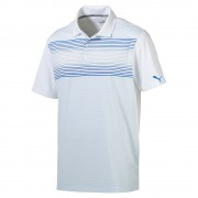 Puma Highlight Stripe french blue polo męskie