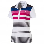 Puma Road Map white/pink polo damskie