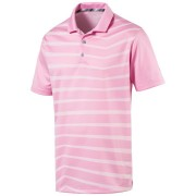 Puma Alterknit Prismatic Polo pale pink koszulka golfowa