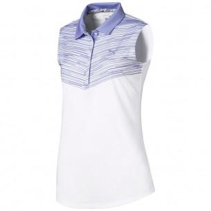 Puma Chevron Sleeveless Women Polo sweet lavender koszulka golfowa
